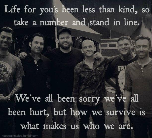 Survive - Rise Against lyrics