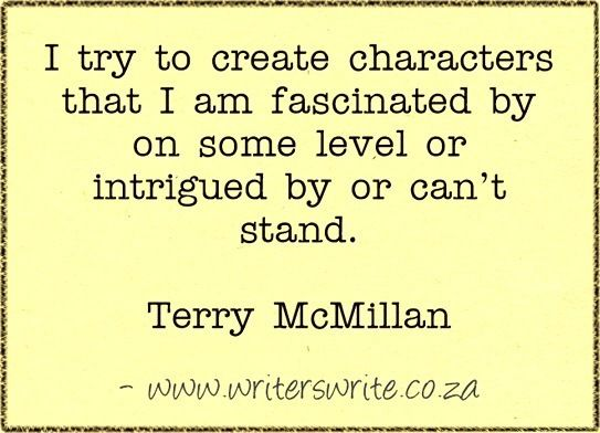 Quotable - Terry McMillan - Writers Write Creative Blog