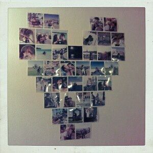 heart with photo