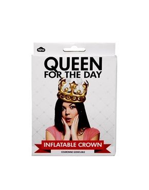 Queen For the Day Inflatable Crown asks.com… great for a party