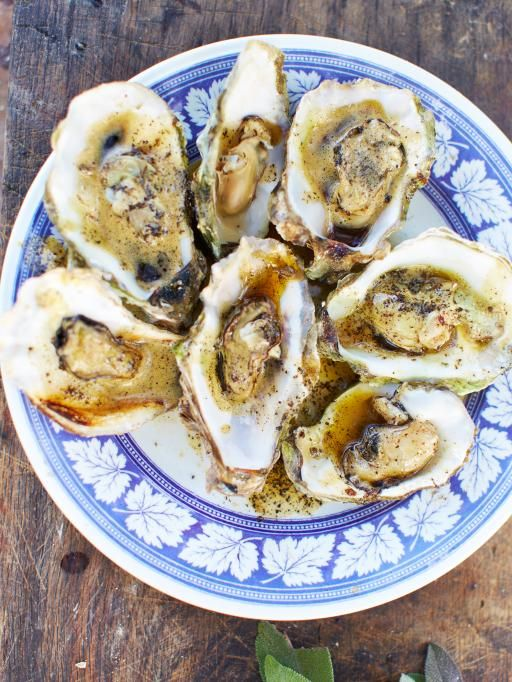 Cooked oysters with burnt butter | Jamie Oliver | Food | Jamie Oliver (UK)