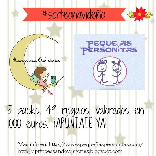 Pequeñas Personitas: #sorteonavideño de Princess and owl stories y Pequ...