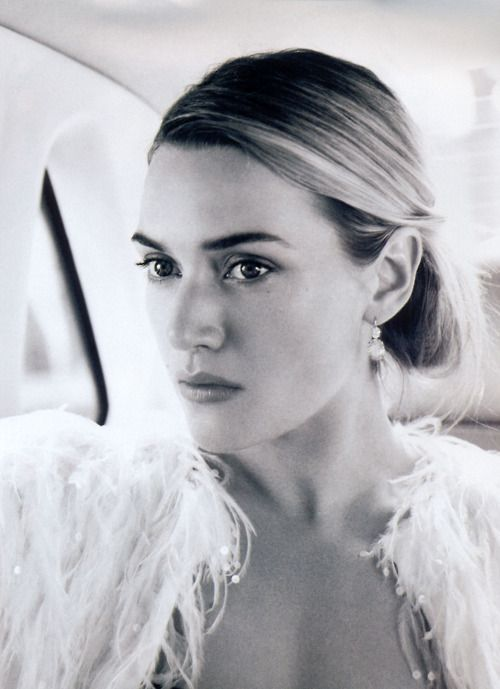 Kate Winslet- she is so pretty, but exotic pretty. Not like, awww she's so cute, but Dang......