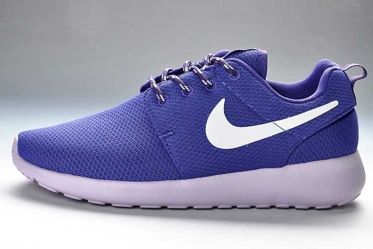Nike Roshe Run Grey And White Junior