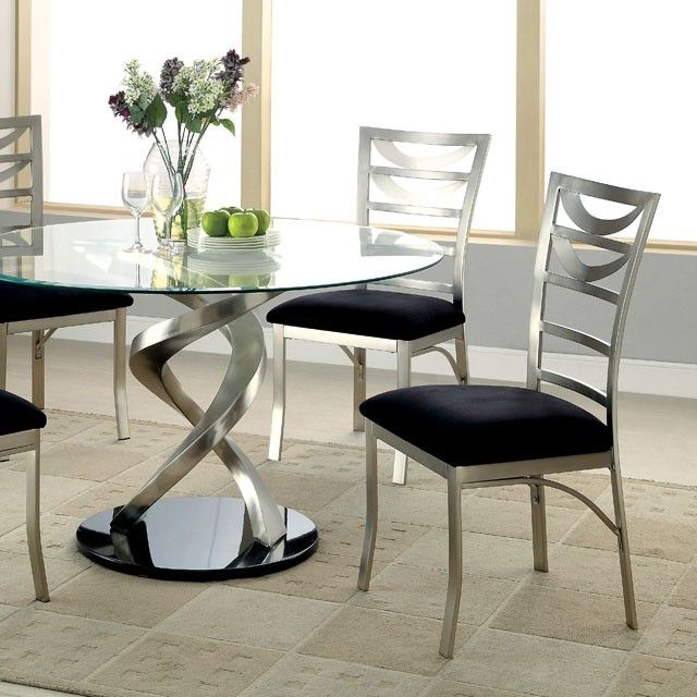 11 Best Images About Round Glass Dining Table For Kitchen