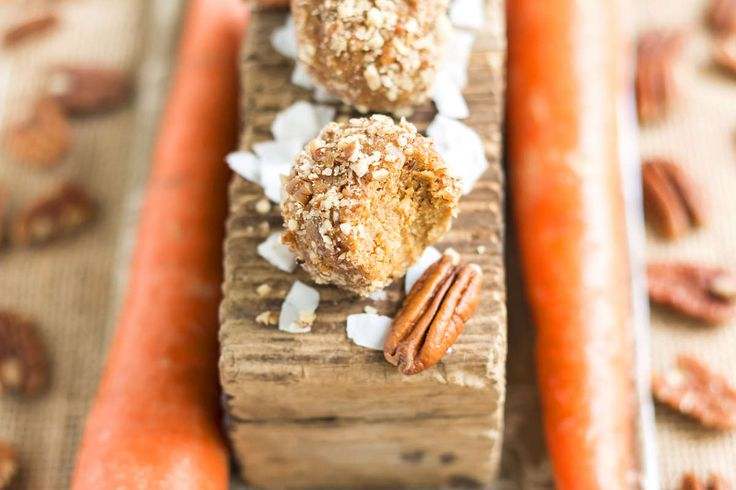 Carrot Cake Raw Balls | Gluten Free with L.B.