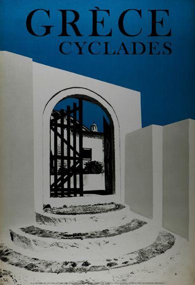 GRECE 1960. CYCLADES.