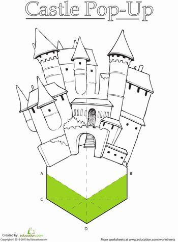 Worksheets: Paper Castle