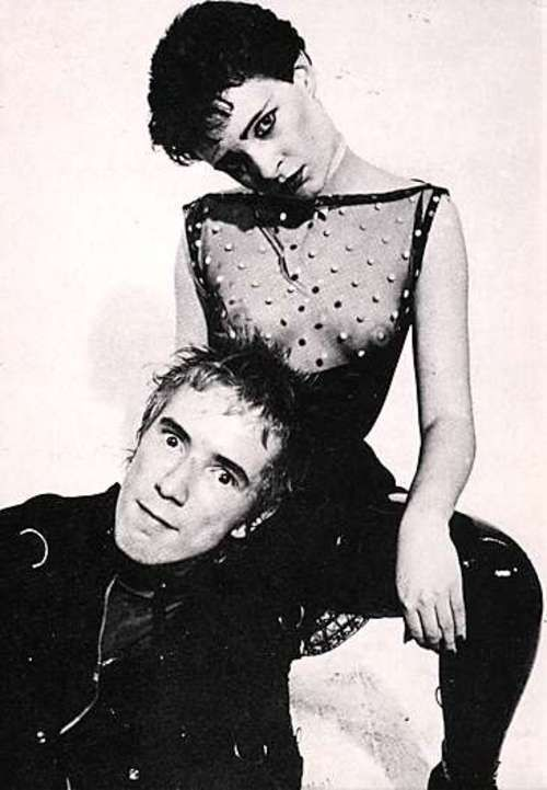 Johnny Rotten y Siouxsie Sioux.