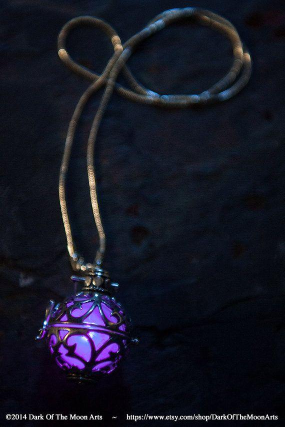Steampunk Silver Cutwork Globe Glow in the by DarkOfTheMoonArts, $30.00