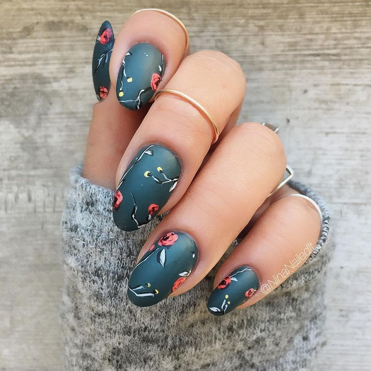 11 Best Fall Nail Art Designs - Best Nail Art Ideas for Autumn 2017