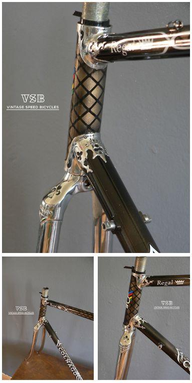Oh, wie hübsch - ein Rad mit Netzstrumpf. ;-)