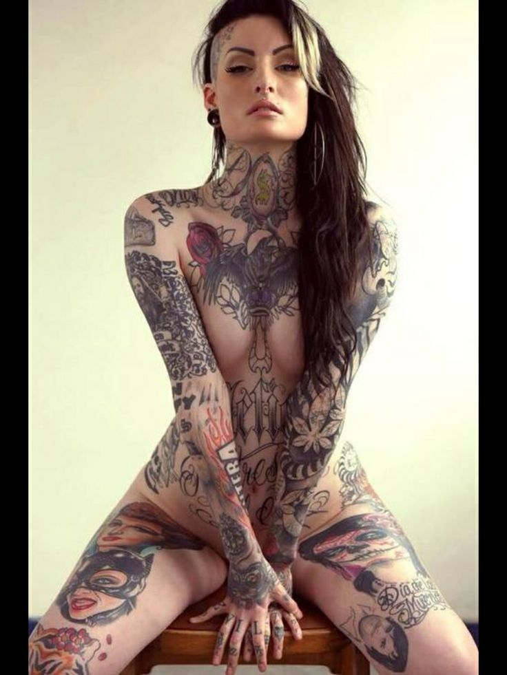 Nude Pictures Of Tattooed Women 102