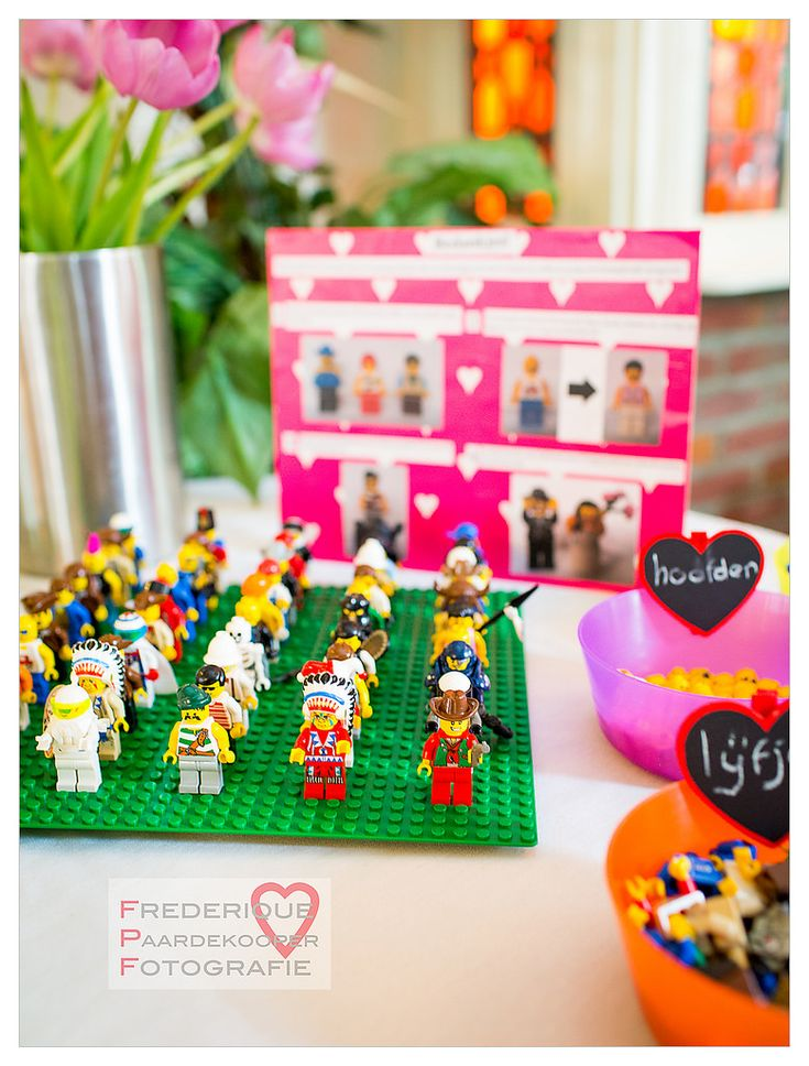 We had our guests choose and customize their own LEGO minifigures to take home as wedding favors. On top of being very popular, it turned into a fun activity for our guests at the reception/party!