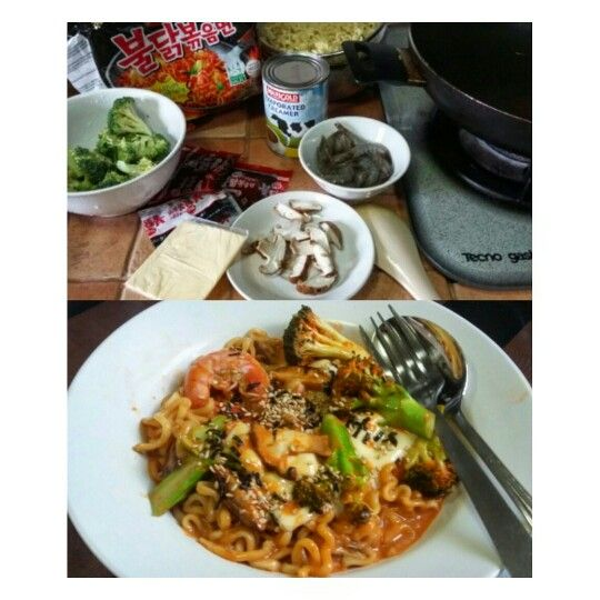 The Soupy Version Of Samyang Noodles. Korean Most Fiery Noodle!