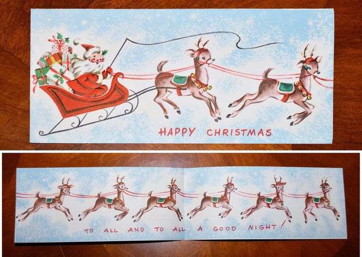 Vintage UNUSED Christmas Card EMBOSSED GOLD SANTA & 8 REINDEER Mid-Century FOR SALE • $24.95 • See Photos! Money Back Guarantee. Vintage UNUSED Christmas Card EMBOSSED GOLD SANTA & 8 REINDEER Mid-Century A Sunshine CardMade in USA Embossed Santa in his sleigh with his eight reindeer, from the cover to the 282493551262