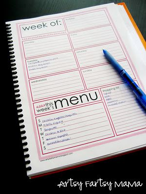 Weekly planner printableOrganizing Printable, Weeks Menu, Printables Weeks, Menu Planners, Planners Printables, Planners Pages, Meals Planners, Free Printables, Weeks Planners