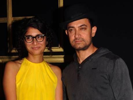 Bollywood star Aamir Khan, wife Kiran Rao down with swine flu - gulfnews.com #FansnStars