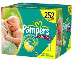Save $1.50 on one pack of PampersBaby Dry diapers!