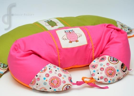 df kismama-párna baglyos design Ajándék 365