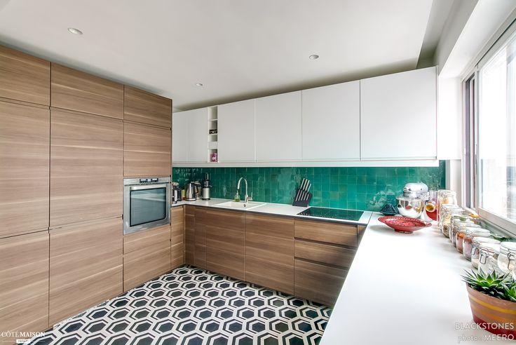 Appartement rénové à Paris 20e, blackStones - Côté Maison