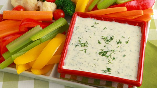 Creamy Dill Ranch Dressing - Recipes - Best Recipes Ever - Fresh dill gives this family-friendly dressing great flavour. You can substitute 1 tsp (5 mL) dried dillweed in a pinch. Serve it with a green salad or with mixed veggie sticks.
