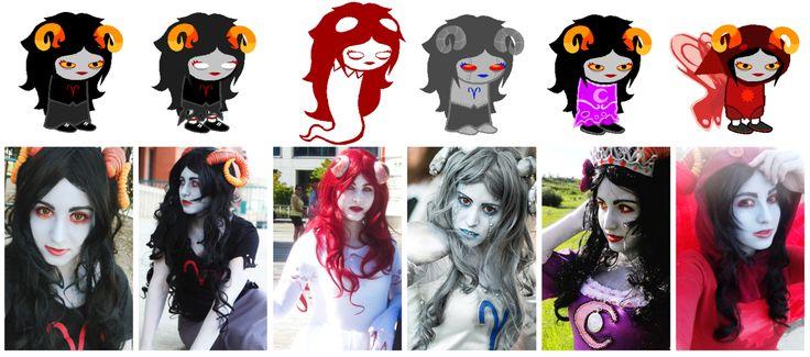 Amazing Homestuck Cosplay | adebimpe, aradia, cosplay, tumblr, user, damaramegido //headcanon aradia