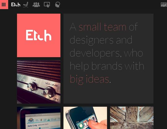 43 New and Inspiring Examples of Flat Web Design You Should See - Designbeep