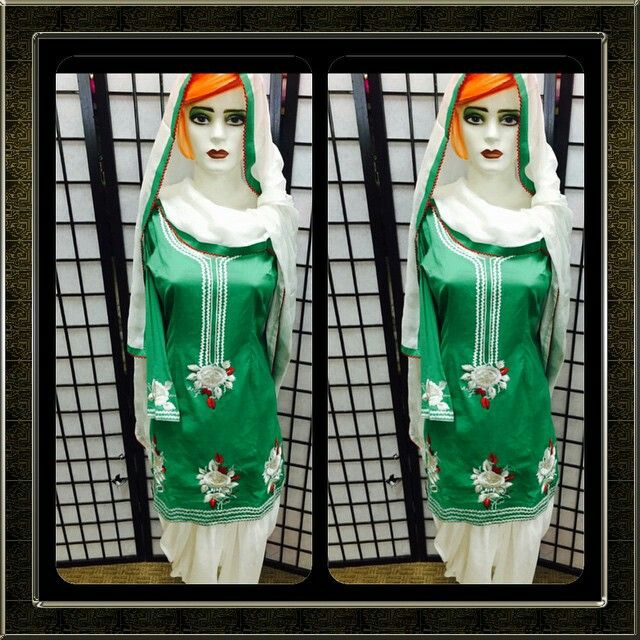 Green again! How can we all not love the colorThis simple Patiala cotton suit has thread work completed on its neck and gherra (bottom). It comes with a white chinnon dupatta which has a green and red border around its corner. Please email us at patialasuits179@gmail.com or give us a call at 1(604)-780-8190 for pricing inquiries #punjabisuits #cottonsuit #threadwork #patialasuits #shahipatialSuits #casualsuits #instafashion #salwarkameez #suitswag#surrey #abbotsfordi