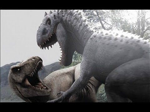Jurassic World T-Rex vs. Indominus Rex - What If The Indominus Wins
