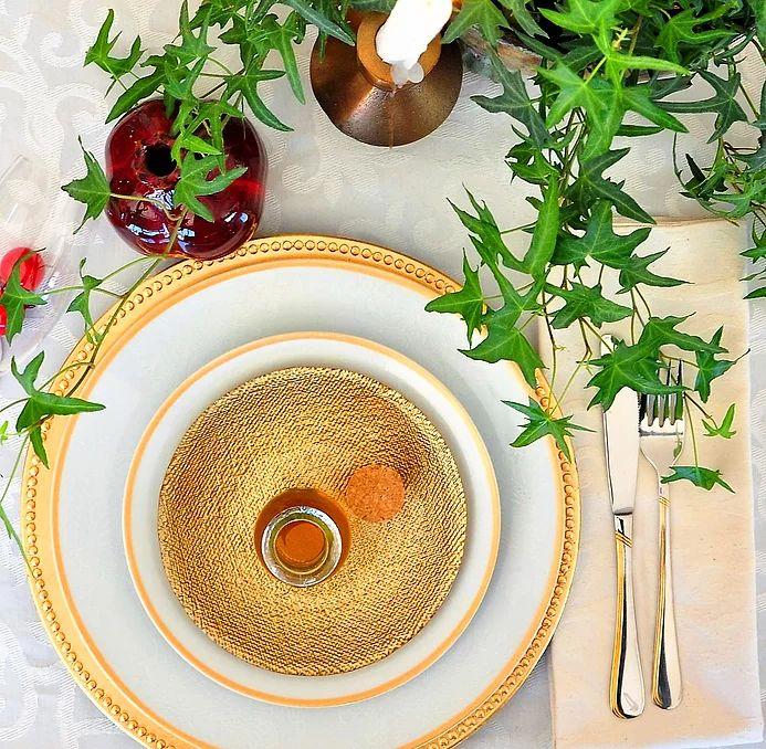 An Elegant Rosh Hashana Tablescapes | Sandy B Interiors | Jerusalem Israel