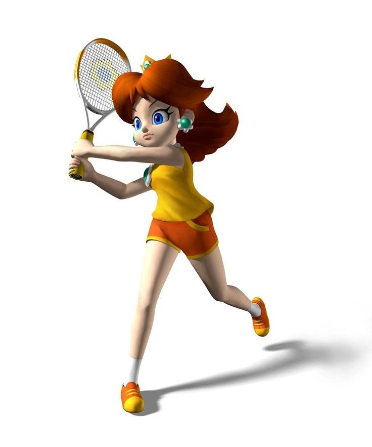 Princess Daisy from Mario Power Tennis #mariotennis