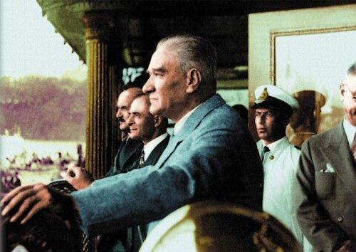 Atatürk'ün çok az bilinen fotoğrafları...