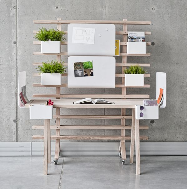WorkNest, A Customizable Desk System That Tames Creative Chaos / Wiktoria  Lenart
