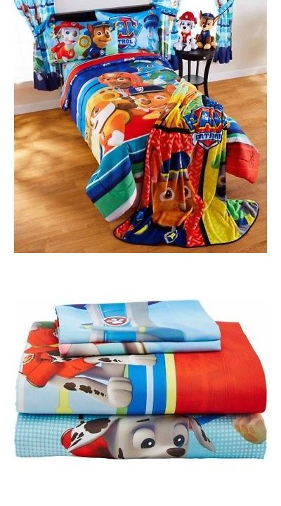 Comforters and Sets 66728: Twin Boys And Girls Paw Patrol Puppy Hero Bed In Bag Reversible Bedding Set -> BUY IT NOW ONLY: $83.9 on eBay!