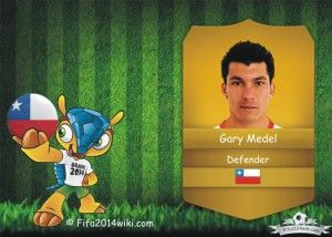Gary Medel - Chile Player - FIFA 2014