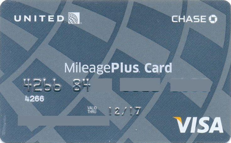 United MileagePlus Card (Chase, United States of America) Col:US-VI-0363