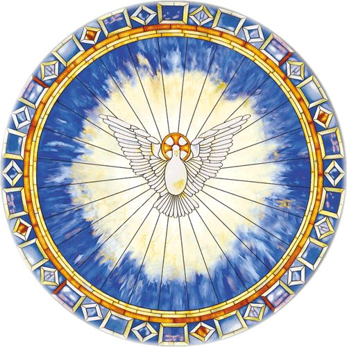 Holy Spirit as Ascending Dove