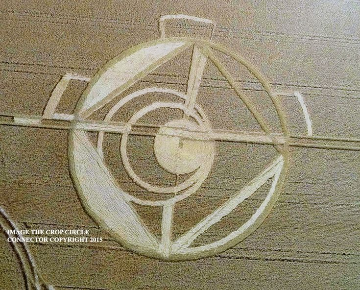 Crop Circle at Stroud Green, Nr Hawkwell, Essex. Reported 21st July 2015