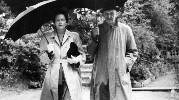 Marsalka with his girlfriend Gertrude Arco-valley. Aunt of Raoul Wallenberg.