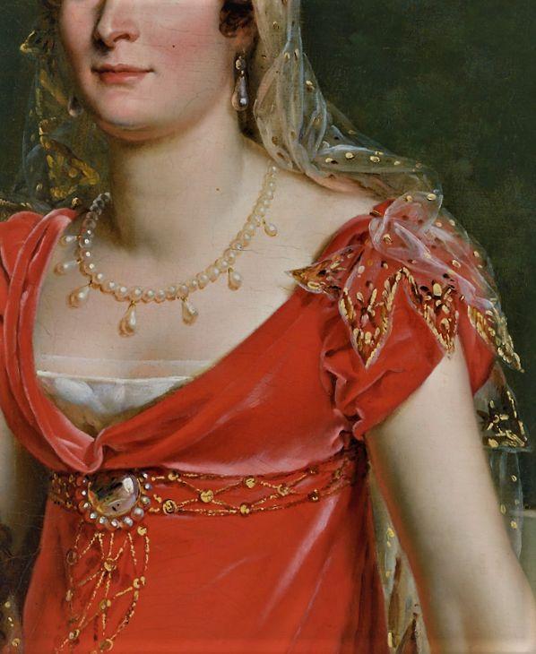 Portrait of Elisa Bonaparte by Francois Gerard