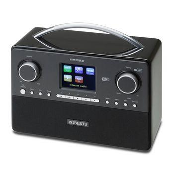 Roberts STREAM 93I BLACK DAB/DAB+/FM/WiFi Internet Radio Colour Display Black