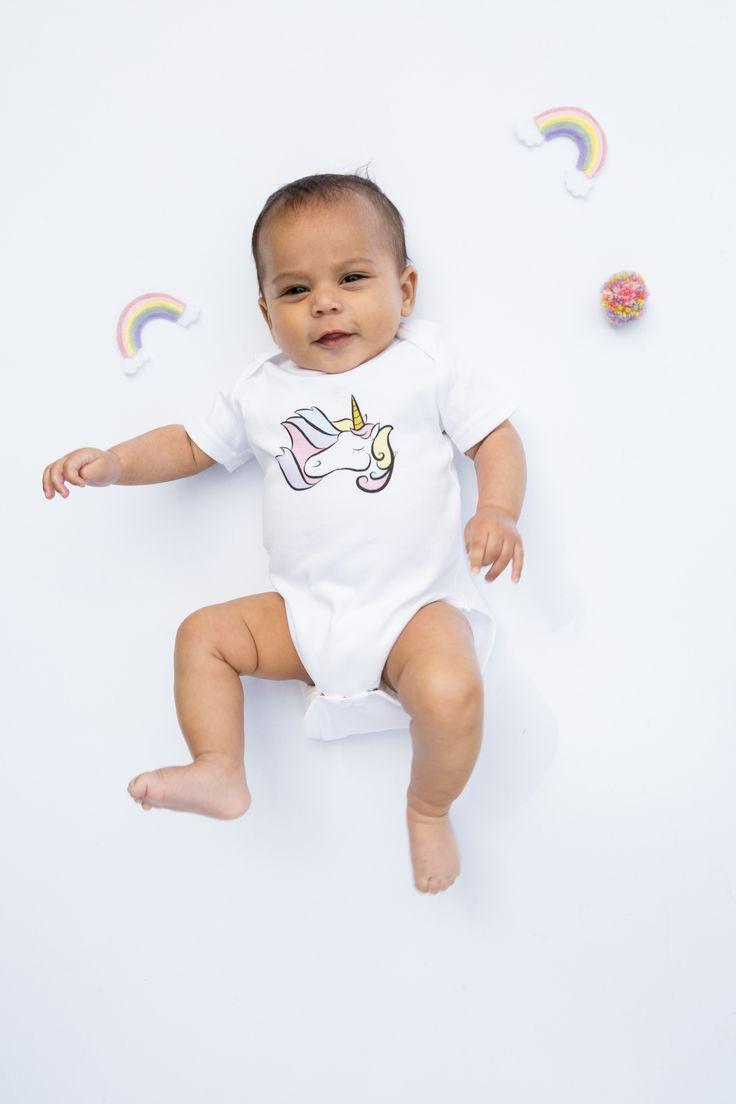 'Unicorn Magic' Organic unicorn babygrow http://www.thislittle.boutique/#!shop/ccy