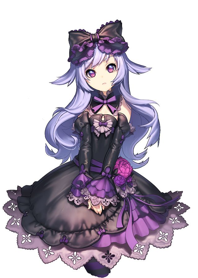 cute anime girls gothic lolita