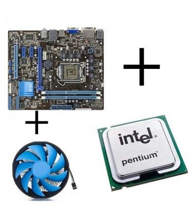 Kit placa de baza second hand Asus P8H61-M LE/USB3, Intel G645, Cooler