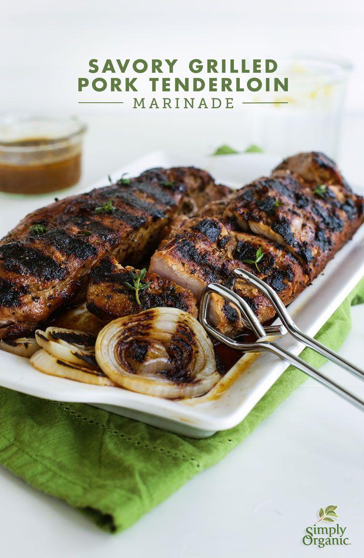Savory Grilled Pork Tenderloin Marinade Recipe Pork