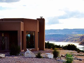 Winter+Dates+On+Sale!++Luxury+Custom+Lakefront+Home,+Gated,+Hot+Tub,+WIFI,+TVs+++Vacation Rental in New Mexico from @homeaway! #vacation #rental #travel #homeaway