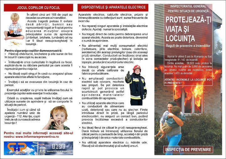 Activități de prevenire a incendiilor