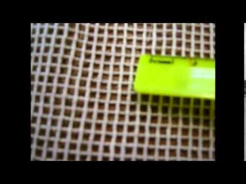 Это специальная сетка для вязания мехом. Её делают в Китае. Два раза отвечала в комментариях, но мои комменты куда-то исчезают