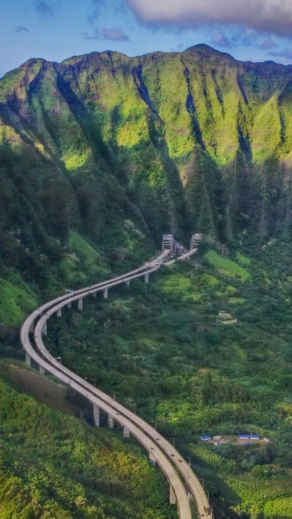OahuHawaiiMountainsiPhoneWallpaper Hawaii mountains